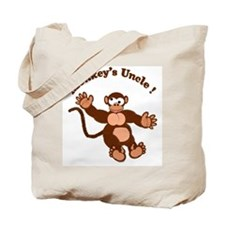 Monkeys Uncle Tote Bag