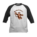 Monkeys Uncle Kids Baseball Jersey