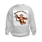 Monkeys Uncle Kids Sweatshirt