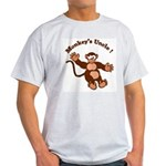 Monkeys Uncle Ash Grey T-Shirt