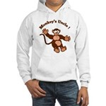 Monkeys Uncle Hooded Sweatshirt