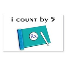 i count by 5.PNG Decal