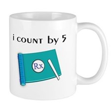 i count by 5.PNG Mug