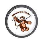 Monkeys Uncle Wall Clock
