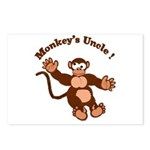 Monkeys Uncle Postcards (Package of 8)