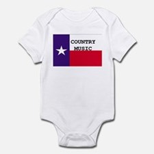 Country Music Infant Bodysuit