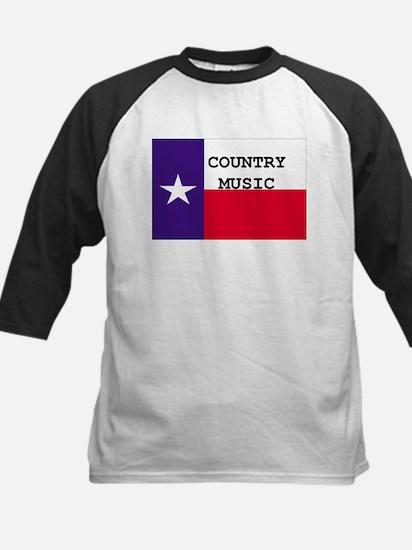 Country Music Kids Baseball Jersey