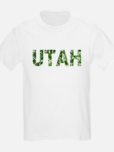 Utah, Vintage Camo, T-Shirt