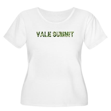 Vale Summit, Vintage Camo, Women's Plus Size Scoop