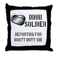 DDubsoldier.png Throw Pillow