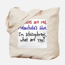 Neuroses are red, Melancholia Tote Bag