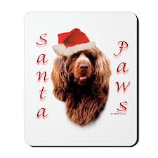 Santa Paws Sussex Spaniel Mousepad