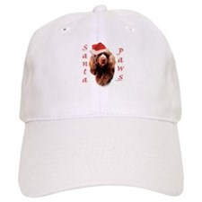 Santa Paws Sussex Spaniel Baseball Cap