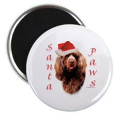 Santa Paws Sussex Spaniel Magnet