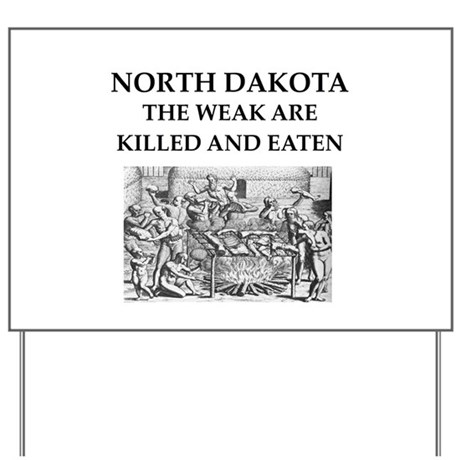 north dakota Yard Sign