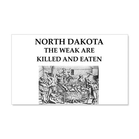 north dakota 20x12 Wall Decal
