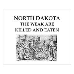 north dakota Posters
