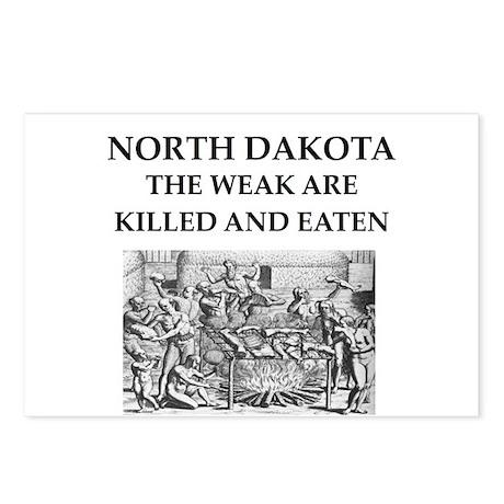 north dakota Postcards (Package of 8)