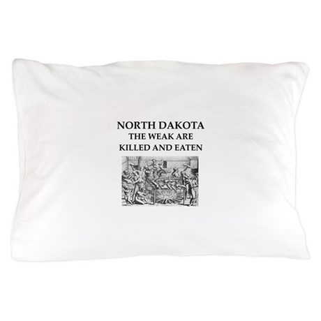 north dakota Pillow Case