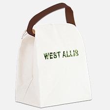 West Allis, Vintage Camo, Canvas Lunch Bag