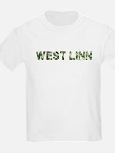 West Linn, Vintage Camo, T-Shirt