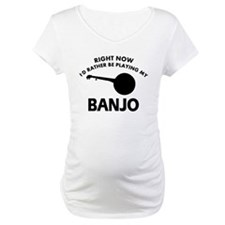 Banjo silhouette designs Shirt