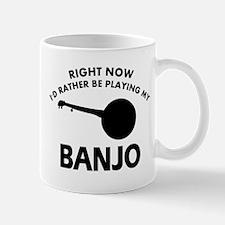 Banjo silhouette designs Mug