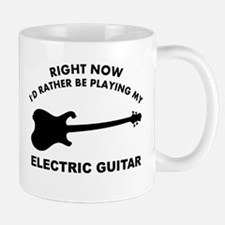 Electric Guitar silhouette designs Mug