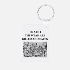 idaho Aluminum Photo Keychain