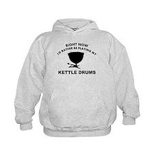 Kettle drum silhouette designs Hoody