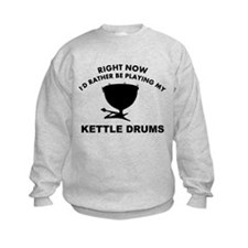 Kettle drum silhouette designs Sweatshirt