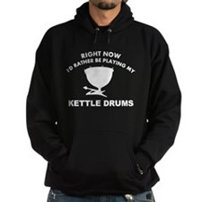 Kettle drum silhouette designs Hoody