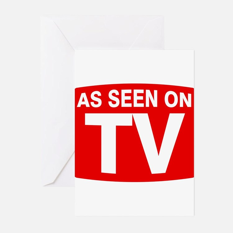 As Seen on TV Greeting Cards (Pk of 10)