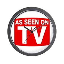 As Seen on TV Wall Clock