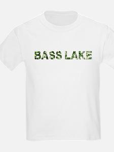 Bass Lake, Vintage Camo, T-Shirt