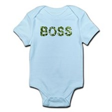 Boss, Vintage Camo, Infant Bodysuit