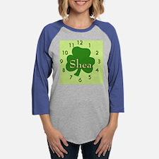 shea family custom name irish  Womens Baseball Tee