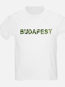 Budapest, Vintage Camo, T-Shirt