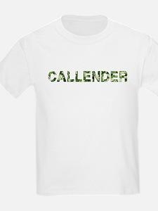 Callender, Vintage Camo, T-Shirt