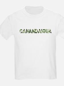 Canandaigua, Vintage Camo, T-Shirt