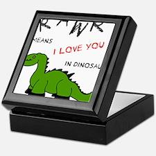 DinoRawr.png Keepsake Box