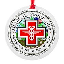 Medical Marijuana Ornament