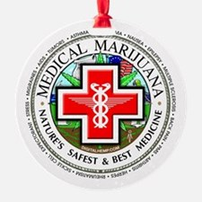 Medical Marijuana Ornament