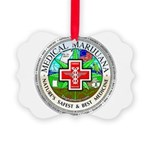 Medical Marijuana Picture Ornament