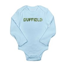 Duffield, Vintage Camo, Long Sleeve Infant Bodysui