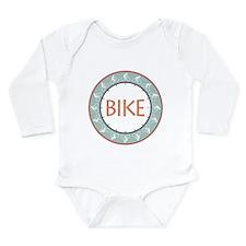 Bike Long Sleeve Infant Bodysuit