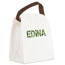 Edina, Vintage Camo, Canvas Lunch Bag