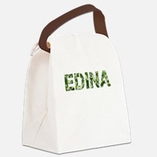 Edina, Vintage Camo, Canvas Lunch Bag