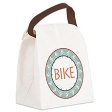 Bike Canvas Lunch Bag