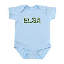 Elsa, Vintage Camo, Infant Bodysuit